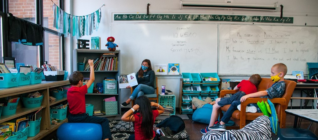 Elementary Classroom picture